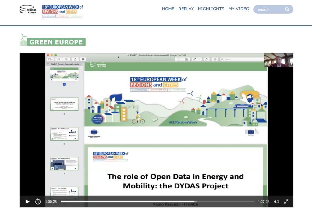 Il ruolo degli open data per l'energia e la mobilità